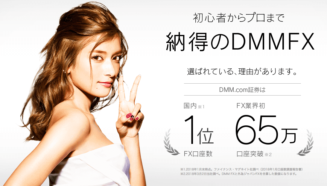 DMM FXの評判は?