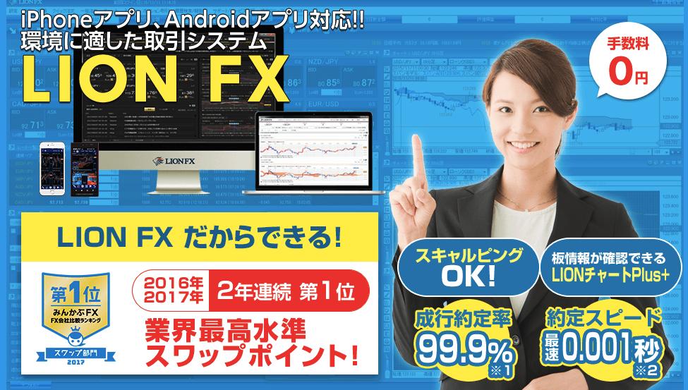 ヒロセ通商のLION FX