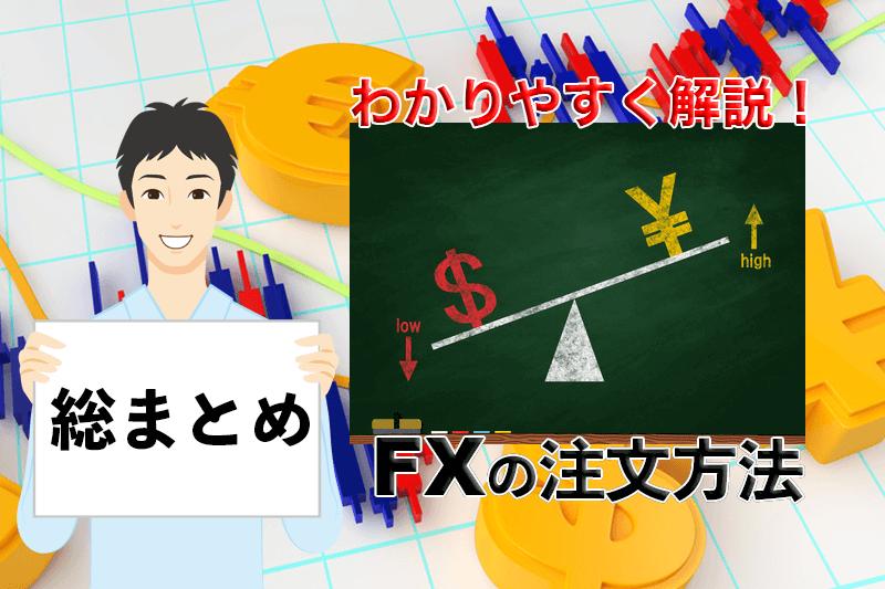 FXの注文方法