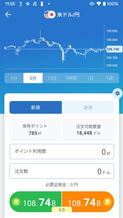 ネオモバFXの初心者向けアプリ
